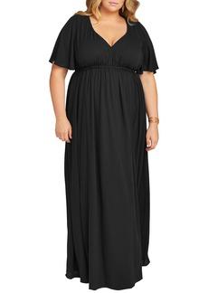 Show Me Your Mumu Emily A-Line Gown (Plus Size)