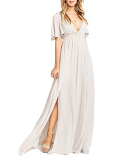 Show Me Your Mumu Faye Chiffon Gown