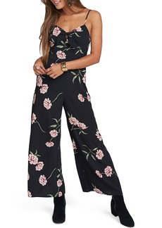 Show Me Your Mumu Honeydew Floral Jumpsuit