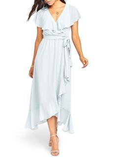 Show Me Your Mumu Adele Ruffle Maxi Dress