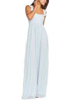 Show Me Your Mumu June Ruffle Strap A-Line Gown