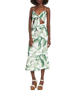 Show Me Your Mumu Moby Tie Maxi Dress