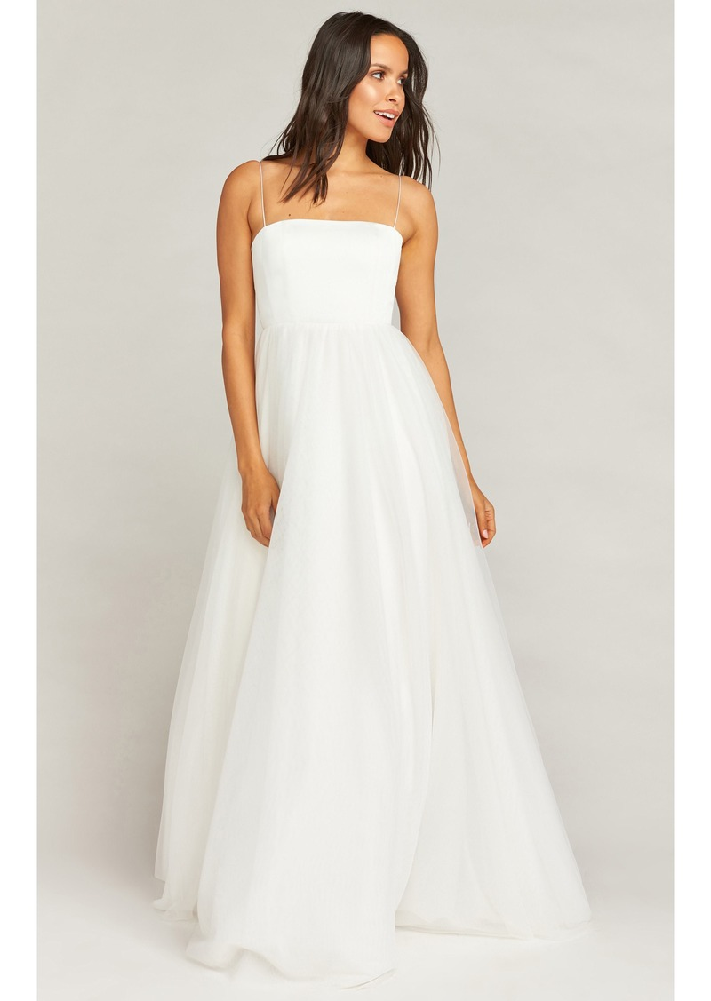 Show Me Your Mumu Show Me Your Mumu Palace Tulle Wedding Dress Dresses