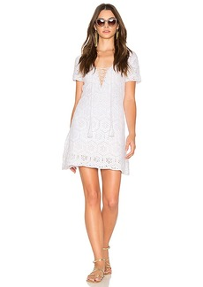 Show Me Your Mumu Palmer Dress in White. - size L (also in S,XS,M)