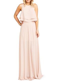 Show Me Your Mumu Princess Ariel A-Line Chiffon Maxi Skirt