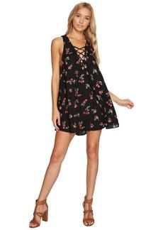 Show Me Your Mumu Rancho Mirage Lace-Up Tunic Dress