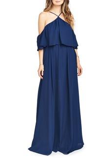 Show Me Your Mumu Rebecca Off the Shoulder Chiffon Gown