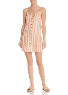 Show Me Your MuMu Remington Striped Mini Dress