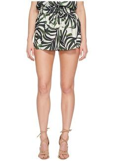 Show Me Your Mumu Serena Smocked Tassel Shorts