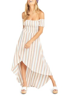 Show Me Your MuMu Willa Off-the-Shoulder Maxi Dress - 100% Exclusive