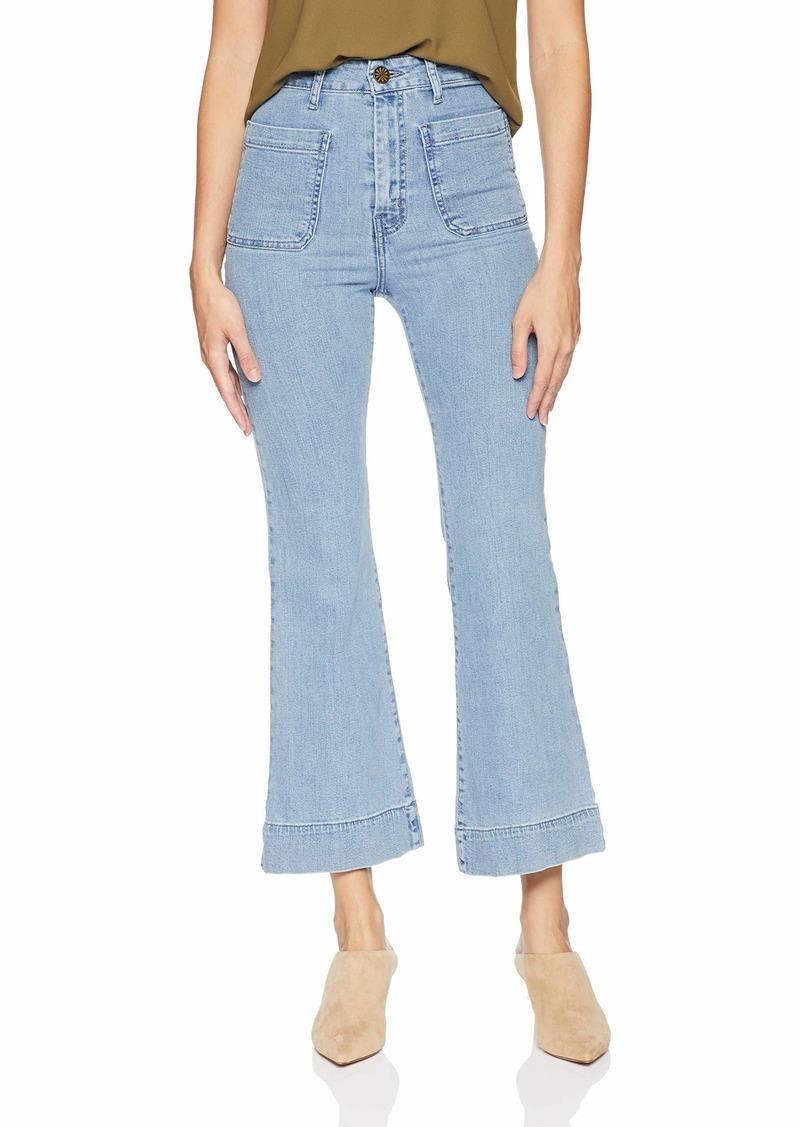 Show Me Your Mumu Women's Cropped Farrah Trouser