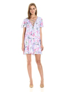 Show Me Your Mumu Women's Kylie Lace up Dress  S