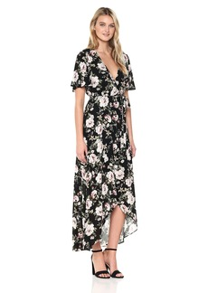 Show Me Your Mumu Women's Marianne Wrap Dress  XS