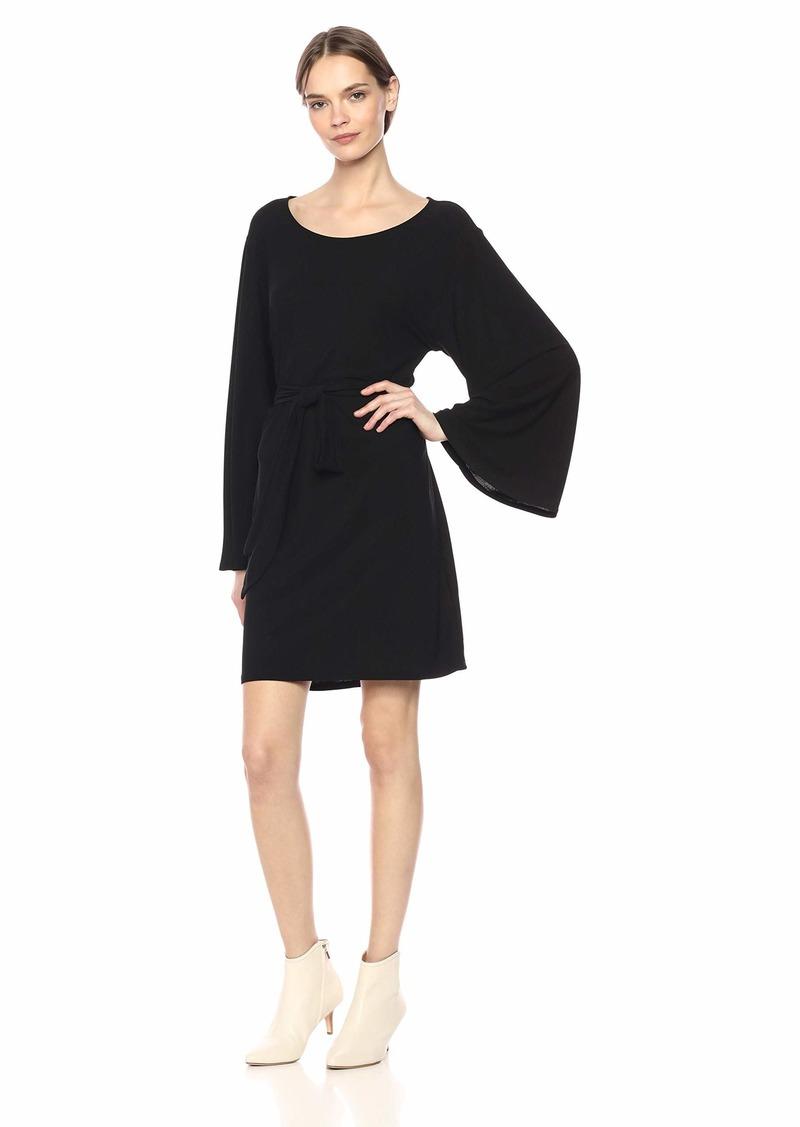 Show Me Your Mumu Women's Monica Dress Textured SPANDY Black