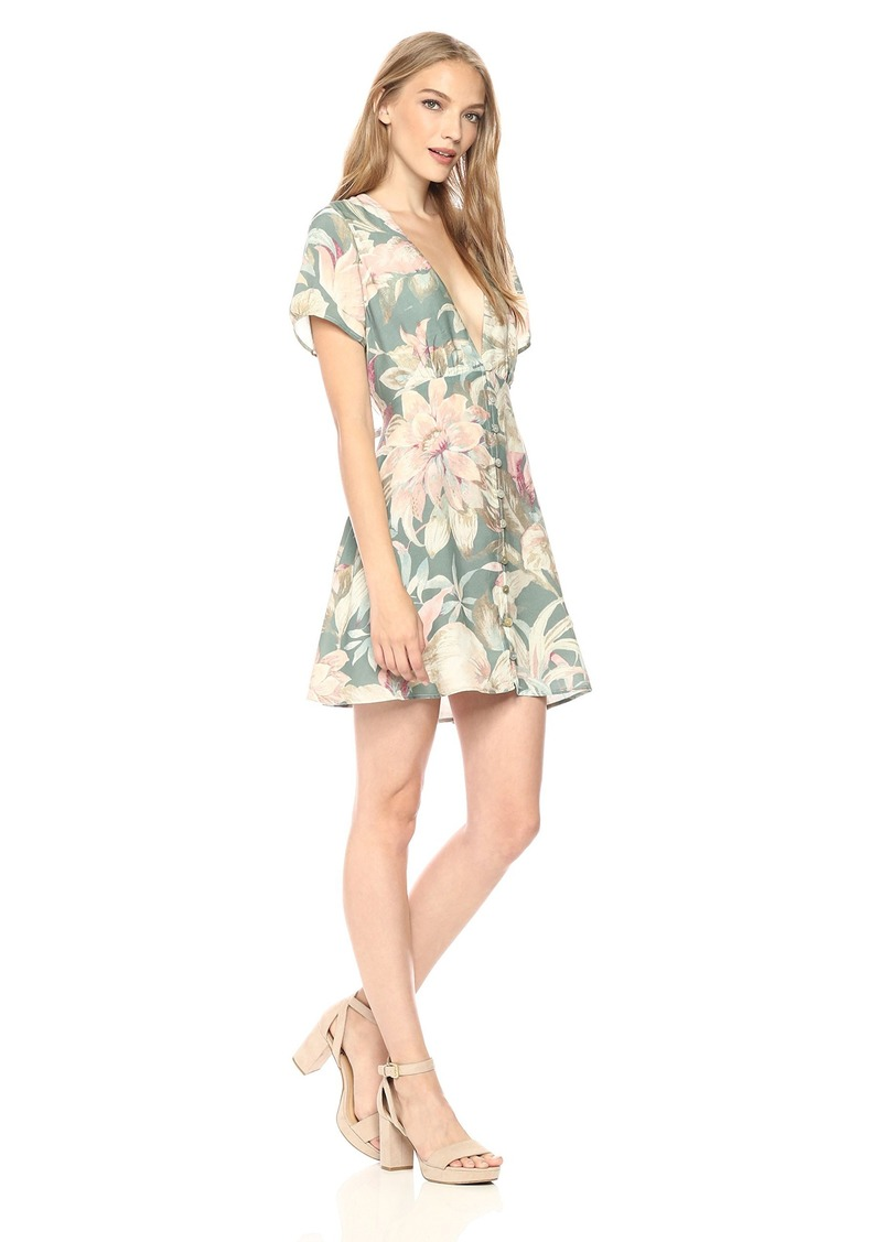 Show Me Your Mumu Women's Robyn Babydoll Dress  L