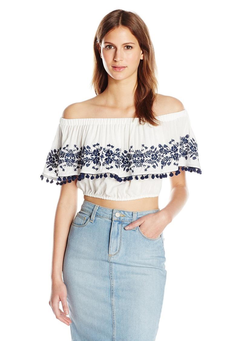 3968b03e07c Women s Teagan Pom Crop Top S. Show Me Your Mumu.  106.00  38.79. from Amazon  Fashion