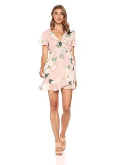 Show Me Your Mumu Women's Winnie Wrap Dress  Extra Small