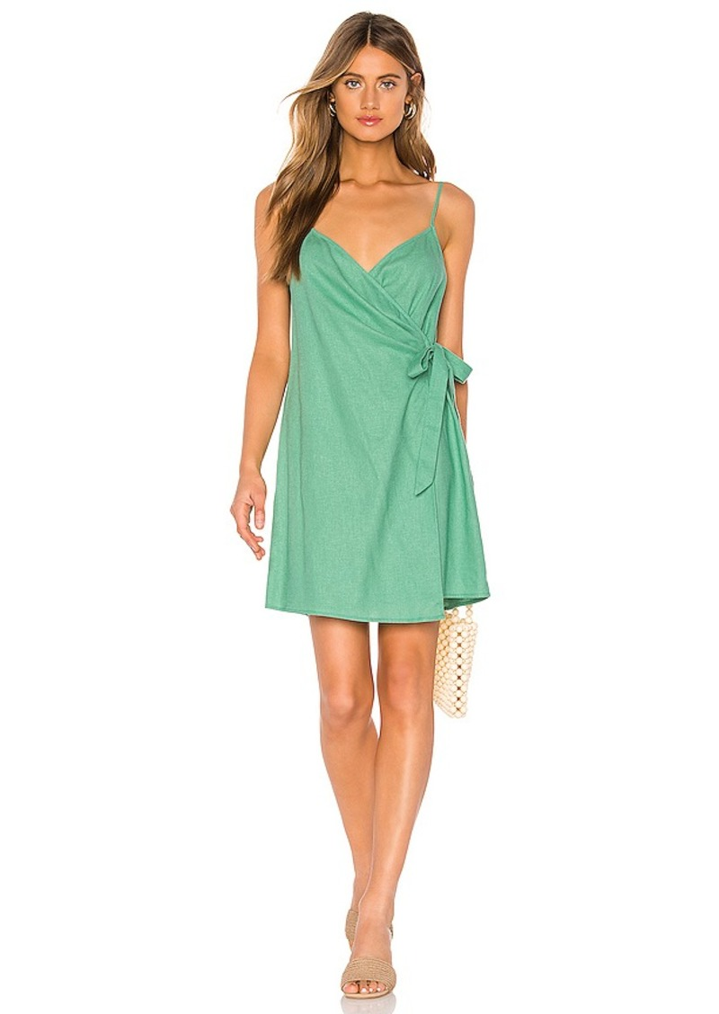 Show Me Your Mumu X REVOLVE Say Jay Wrap Dress