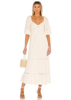 Show Me Your Mumu Zen Midi Dress