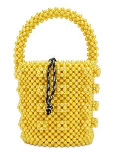 Shrimps Poppy Beaded Top Handle Bag