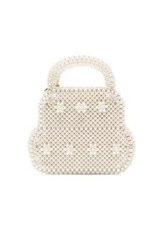 Shrimps August faux-pearl embellished bag