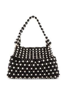 Shrimps Quinn faux pearl-embellished bag