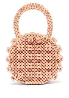 Shrimps Selena faux-pearl handbag