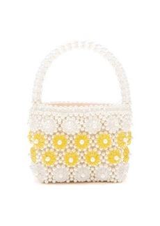 Shrimps Shelly faux-pearl embellished bag