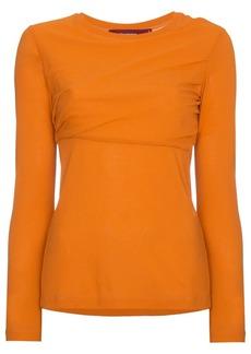 Sies Marjan Carlucci long sleeve cotton jersey top