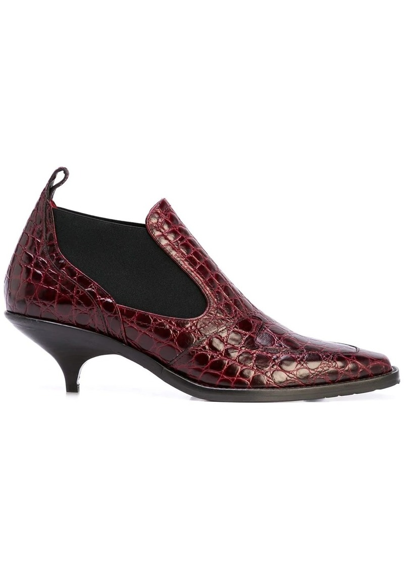 Sies Marjan Kora 50mm crocodile effect boots