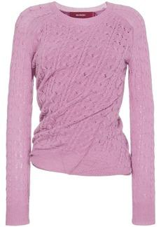 Sies Marjan Libbie crewneck sweater with twist detail