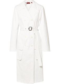 Sies Marjan Nisa Crinkled-ripstop Trench Coat