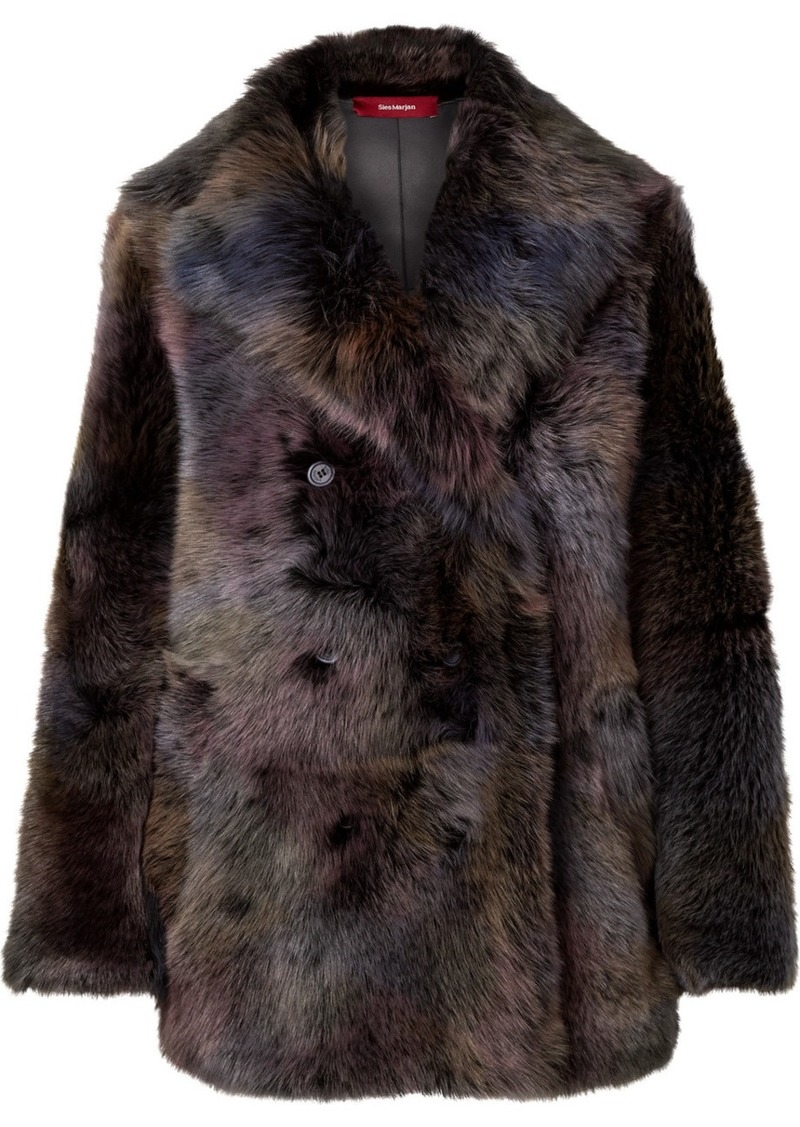 Sies Marjan Pippa Oversized Shearling Coat