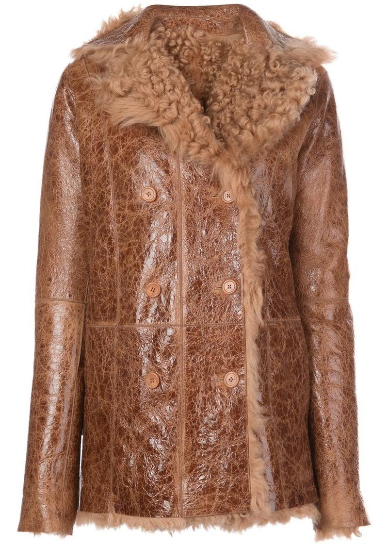 Sies Marjan Pippa reversible shearling coat