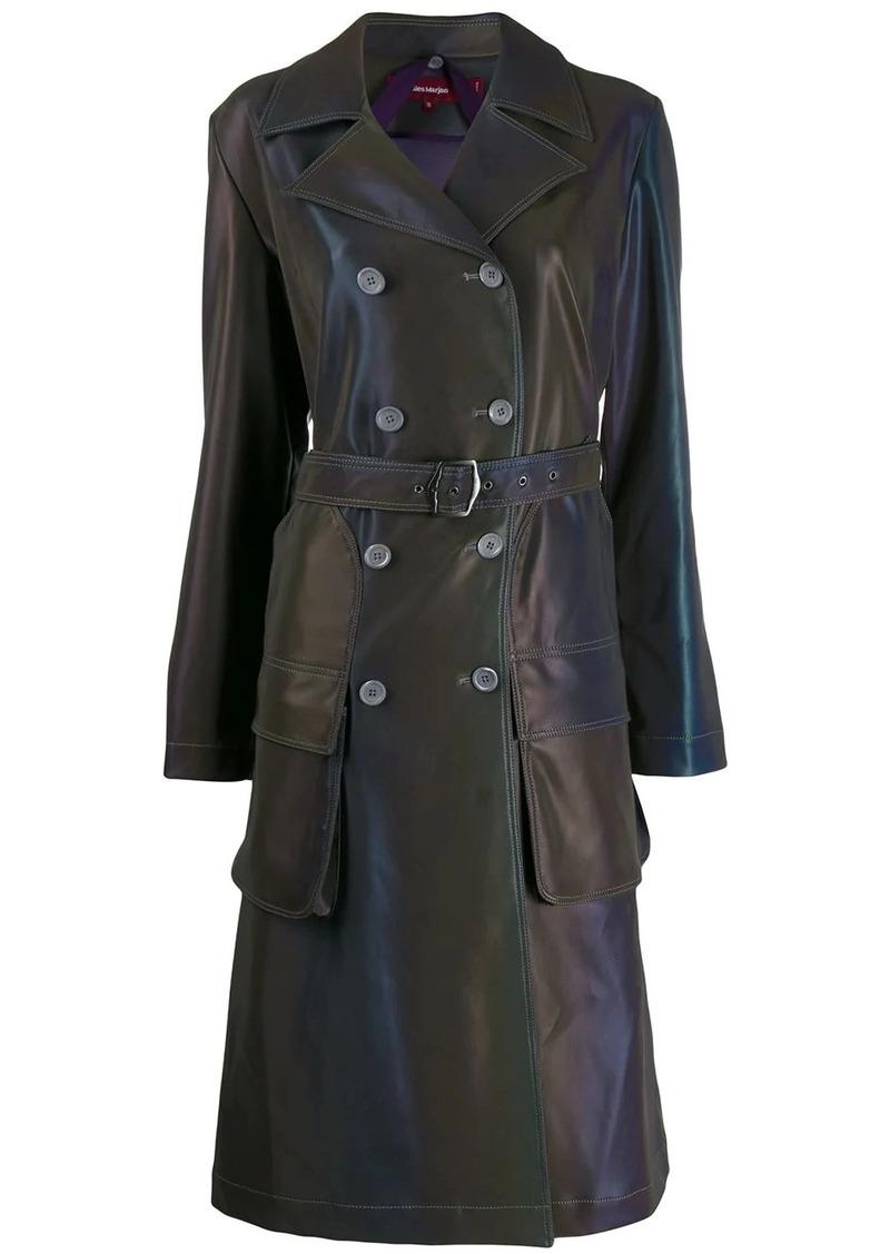 Sies Marjan reflective trench coat