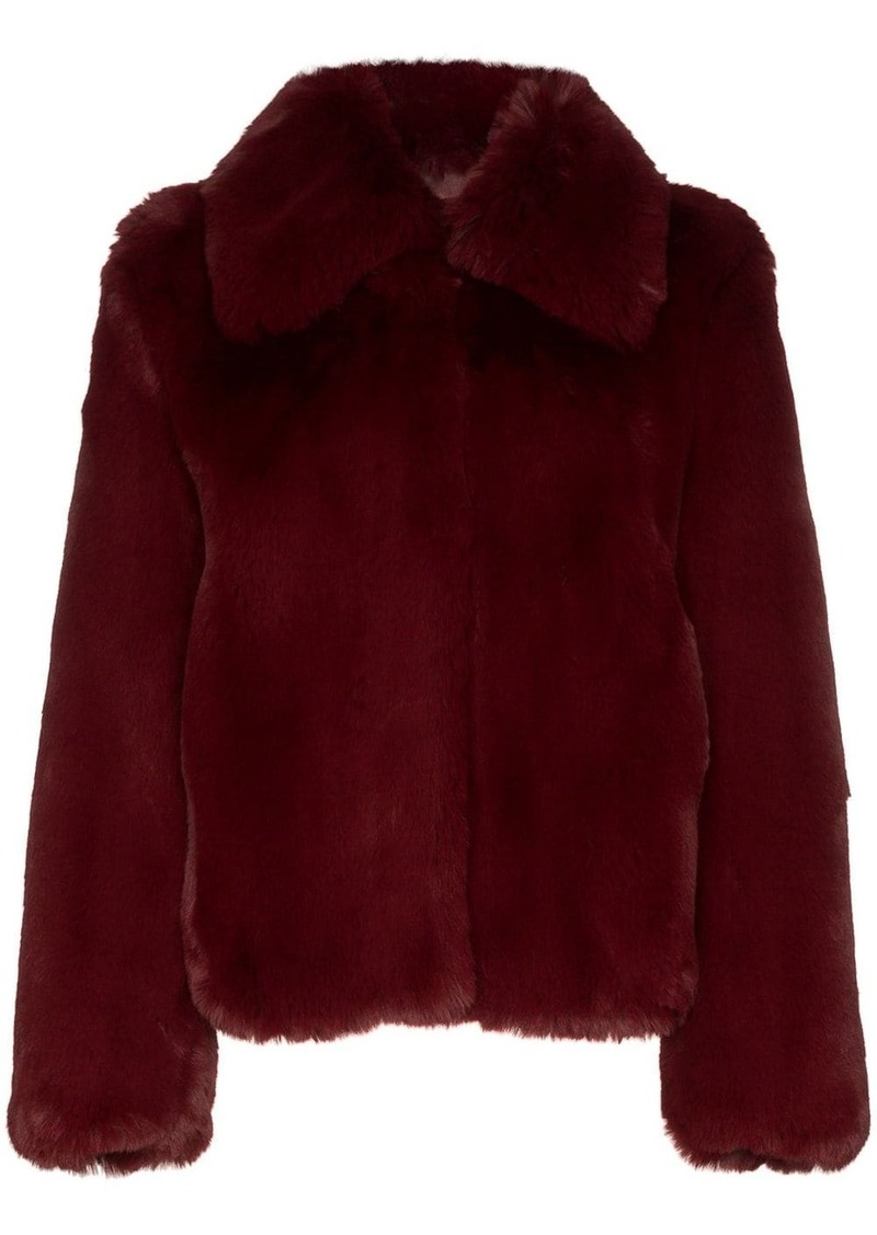 Sies Marjan shearling short coat