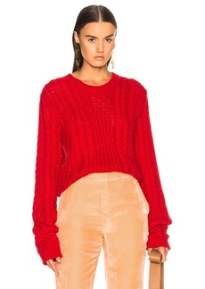 Sies Marjan Britta Cable Knit Sweater