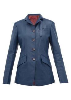 Sies Marjan Bryce single-breasted leather jacket