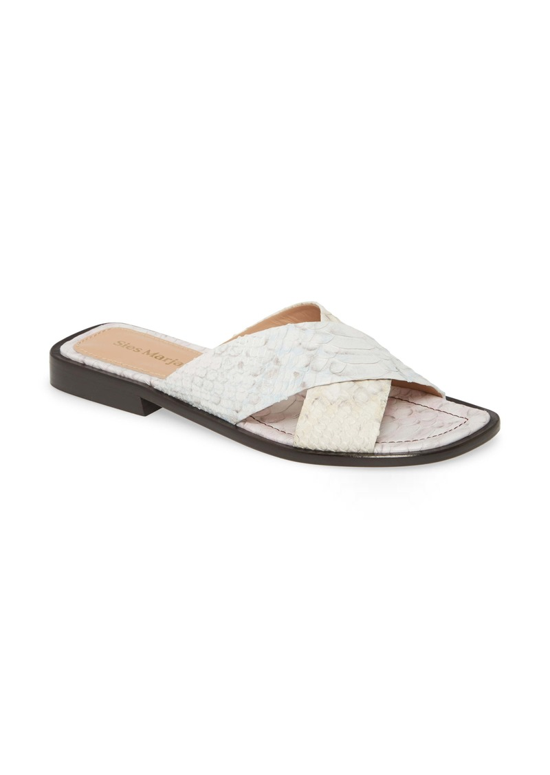 Sies Marjan Crisscross Slide Sandal (Women)