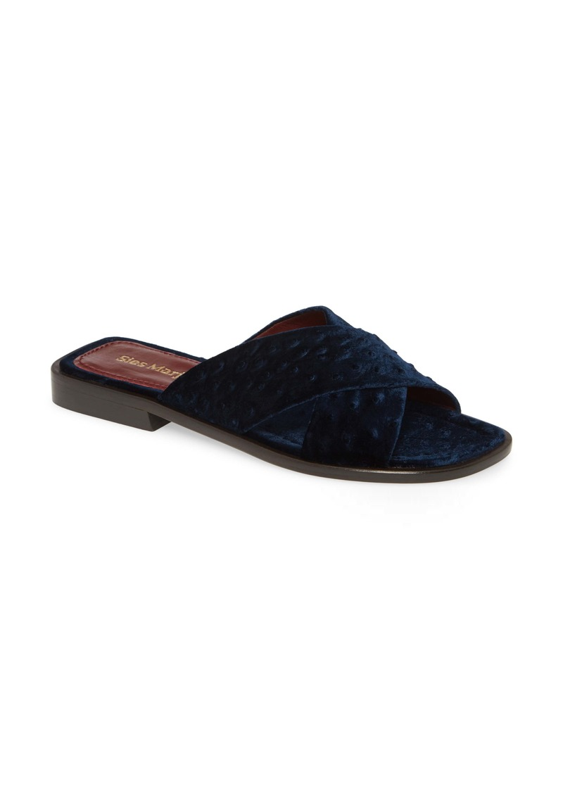 Sies Marjan Cross Strap Slide Sandal (Women)