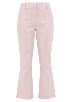 Sies Marjan Danit Lurex flared trousers