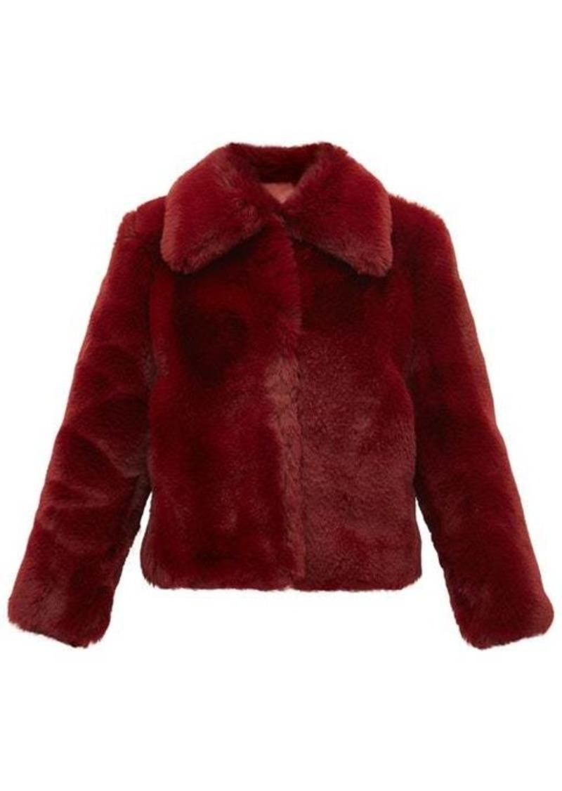 Sies Marjan Felice faux-fur jacket