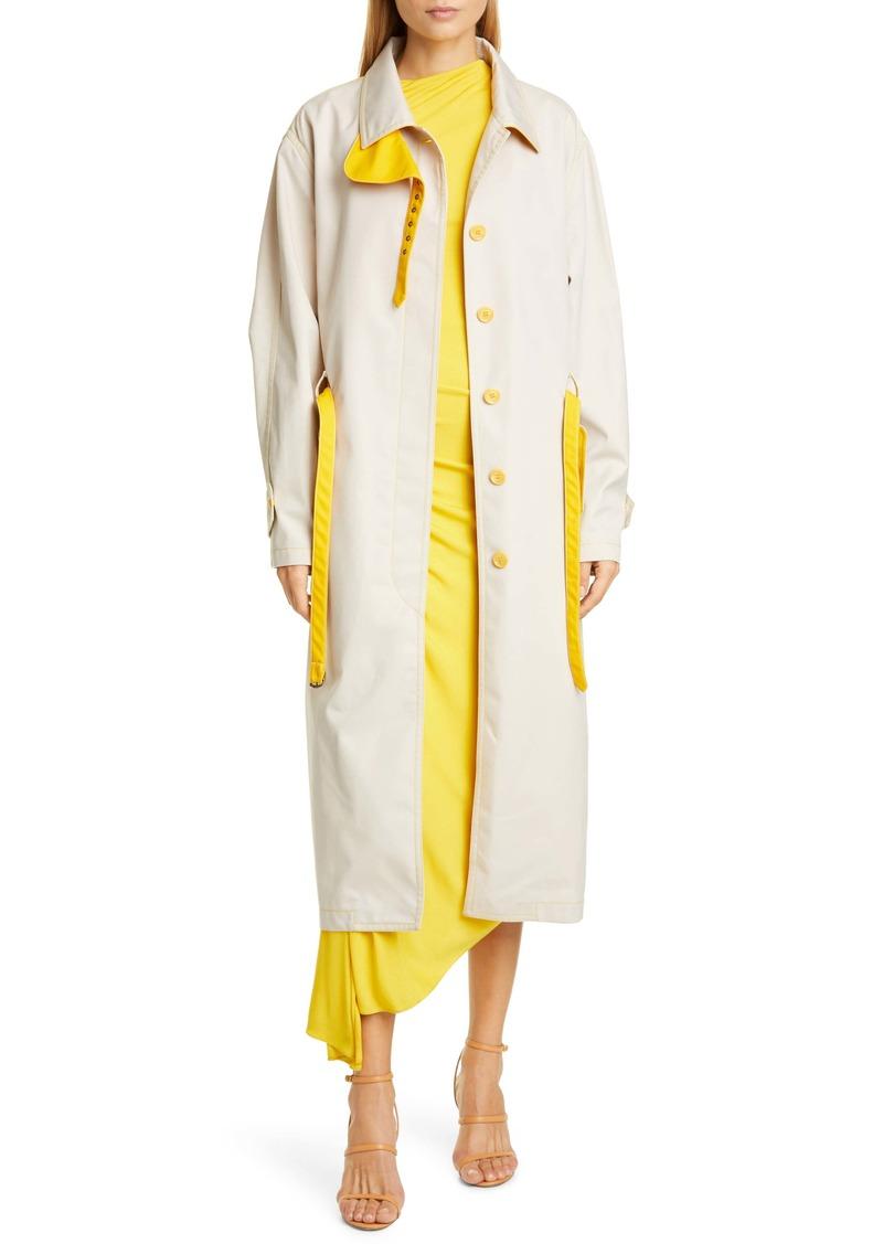 Sies Marjan Lee Water Resistant Coated Twill Trench Coat