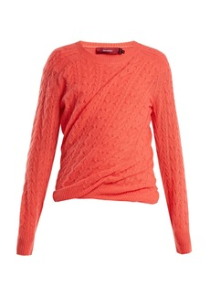 Sies Marjan Libbie cable-knit cashmere sweater