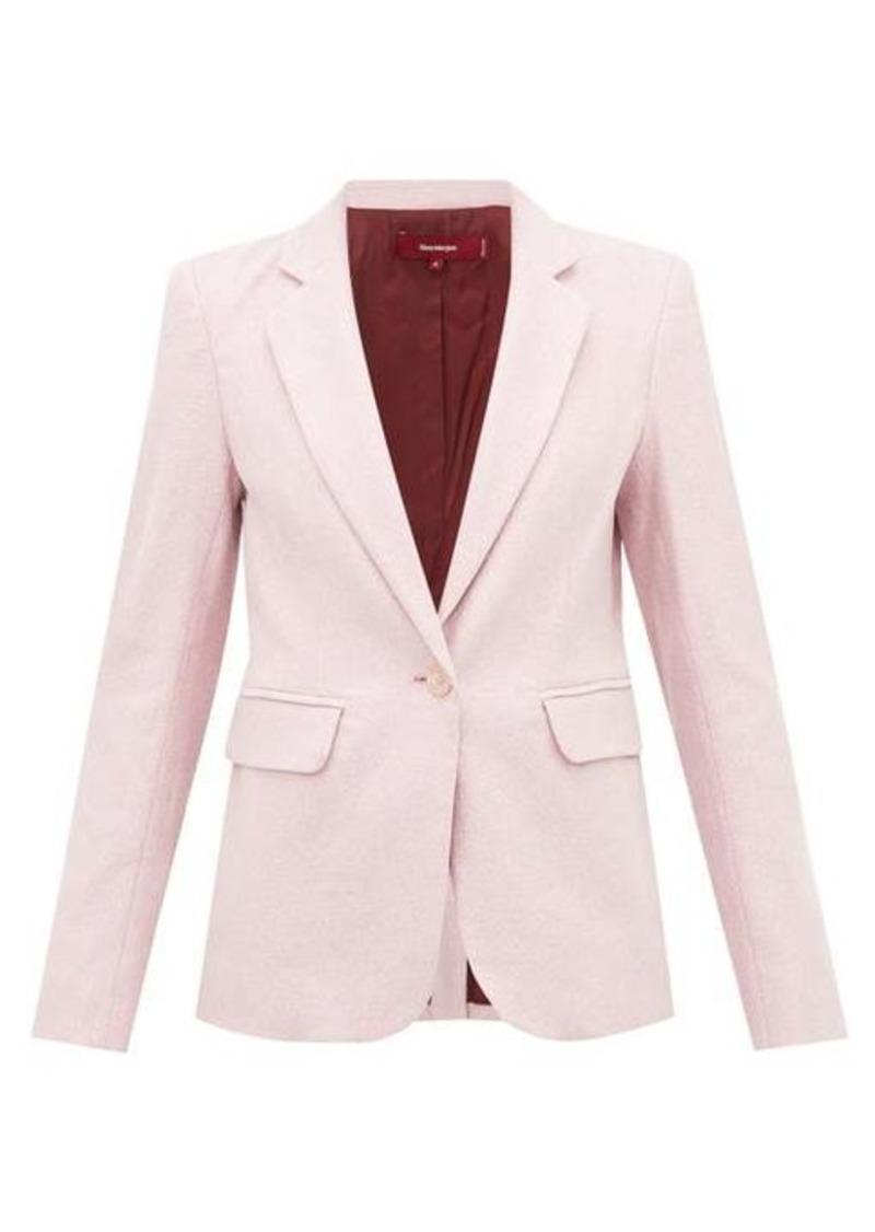 Sies Marjan Mason single-breasted Lurex jacket