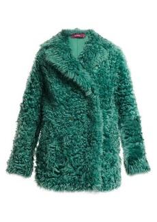 Sies Marjan Pippa double-breasted shearling coat