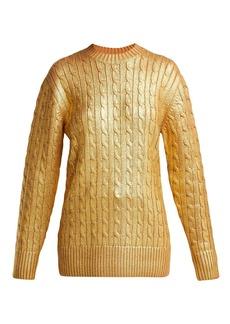 Sies Marjan Sophia cable-knit sweater
