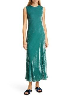 Sies Marjan Viv Velvet Midi Dress