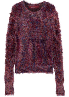 Sies Marjan Woman Ange Mélange Frayed Knitted Sweater Multicolor