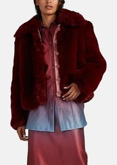 Sies Marjan Women's Felice Faux Fur Jacket